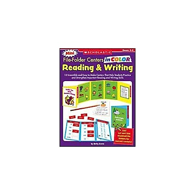 Scholastic Mini File-Folder Centers In Color: Reading and Writing Grades 2-3, Grade 2 - Grade 3 [Enhanced eBook]
