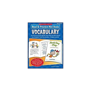 Scholastic Read and Practice Mini-Books: Vocabulary Language Arts Workbook, Grade 2 - Grade 4 [eBook]