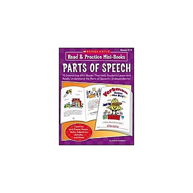 Scholastic Read and Practice Mini-Books: Parts of Speech Language Arts Workbook, Grade 2 - Grade 4 [eBook]
