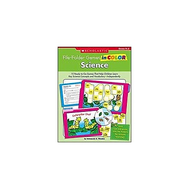 Scholastic File-Folder Games In Color: Science Problem Solving Workbook, Kindergarten - Grade 2 [eBook]