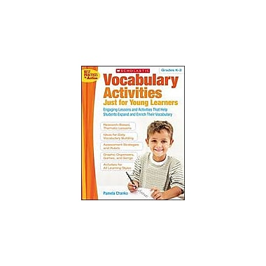 Scholastic Vocabulary Activities Just for Young Learners Language Arts Workbook, Kindergarten - Grade 2 [Enhanced eBook]