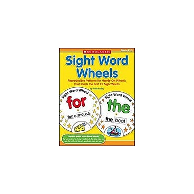 Scholastic Sight Word Wheels Reading & Writing Workbook, Kindergarten - Grade 2 [Enhanced eBook]