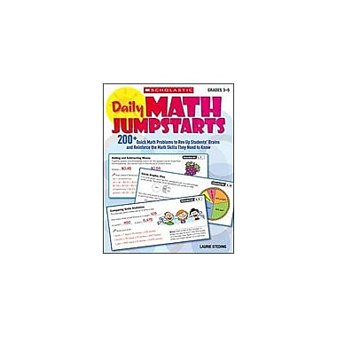 Scholastic Daily Math Jumpstarts Math Workbook, Grade 3 - Grade 5 [eBook]