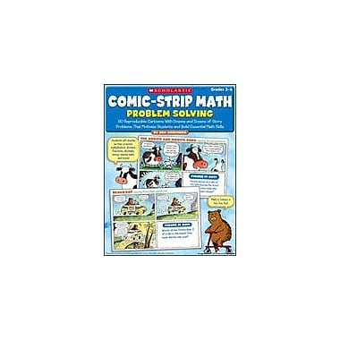 Scholastic Comic-Strip Math: Problem Solving Math Workbook, Grade 3 - Grade 6 [eBook]