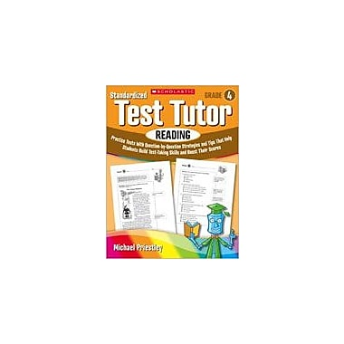 Scholastic Standardized Test Tutor: Reading Reading & Writing Workbook, Grade 4 [Enhanced eBook]