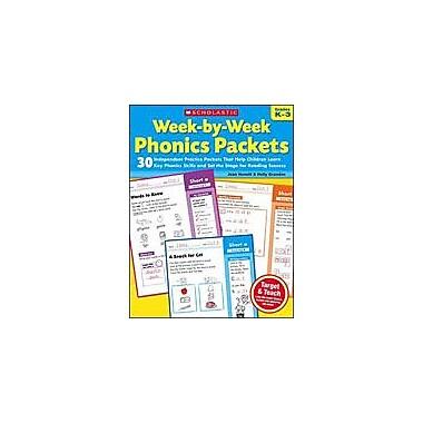 Scholastic Week-By-Week Phonics Packets Reading & Writing Workbook, Kindergarten - Grade 3 [eBook]