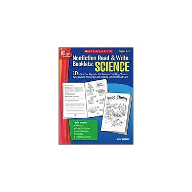 Scholastic Nonfiction Read and Write Booklets: Science Science Workbook, Grade 2 - Grade 3 [eBook]
