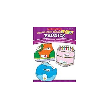 Scholastic Turn-To-Learn Wheels In Color: Phonics Reading & Writing Workbook, Kindergarten - Grade 2 [Enhanced eBook]