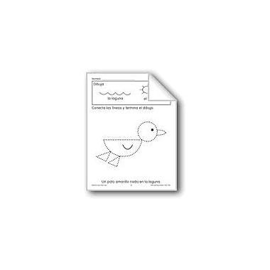 Evan-Moor Educational Publishers Trace/Complete: Duck Language Arts Workbook, Preschool - Grade 1 [eBook]