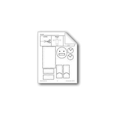 Evan-Moor Educational Publishers Cut/Paste/Draw: Robot Language Arts Workbook, Preschool - Grade 1 [eBook]