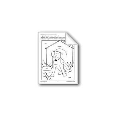 Evan-Moor Educational Publishers Color/Learn: My Dog Language Arts Workbook, Preschool - Grade 1 [eBook]