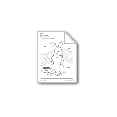 Evan-Moor Educational Publishers Color/Learn: Bunny Language Arts Workbook, Preschool - Grade 1 [eBook]