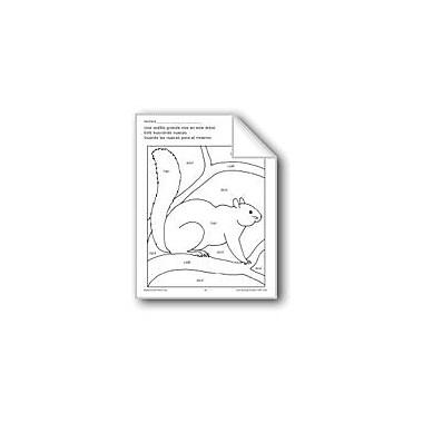 Evan-Moor Educational Publishers Color/Learn: Squirrel Language Arts Workbook, Preschool - Grade 1 [eBook]