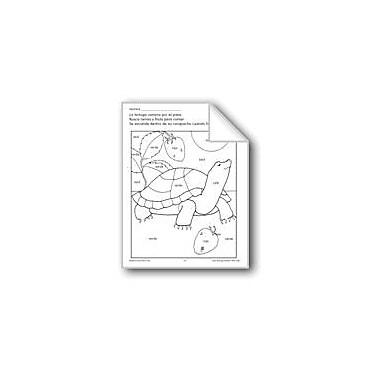 Evan-Moor Educational Publishers Color/Learn: Tortoise Language Arts Workbook, Preschool - Grade 1 [eBook]