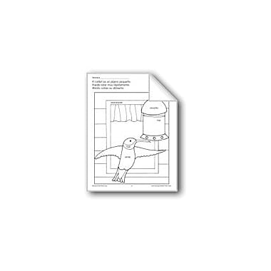 Evan-Moor Educational Publishers Color/Learn: Hummingbird Language Arts Workbook, Preschool - Grade 1 [eBook]