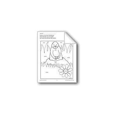 Evan-Moor Educational Publishers Color/Learn: Gopher Language Arts Workbook, Preschool - Grade 1 [eBook]