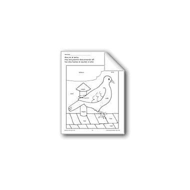 Evan-Moor Educational Publishers Color/Learn: Pigeon Language Arts Workbook, Preschool - Grade 1 [eBook]