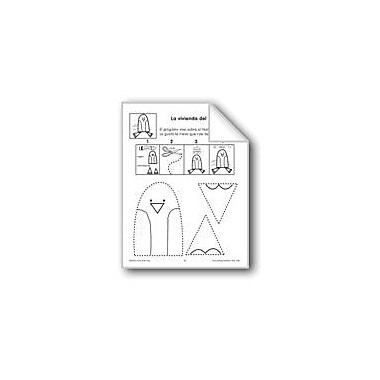 Evan-Moor Educational Publishers Cut/Paste: the Penguin's Home Language Arts Workbook, Preschool - Grade 1 [eBook]
