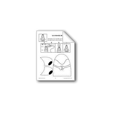 Evan-Moor Educational Publishers Cut/Paste: the Frog's Home Language Arts Workbook, Preschool - Grade 1 [eBook]