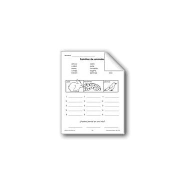 Evan-Moor Educational Publishers Categories: Animal Families Language Arts Workbook, Preschool - Grade 1 [eBook]