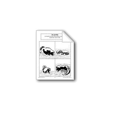 Evan-Moor Educational Publishers Sequencing: the Skunk Language Arts Workbook, Preschool - Grade 1 [eBook]
