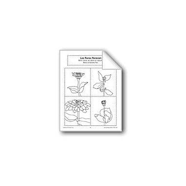 Evan-Moor Educational Publishers Sequencing: Blooming Flowers Language Arts Workbook, Preschool - Grade 1 [eBook]