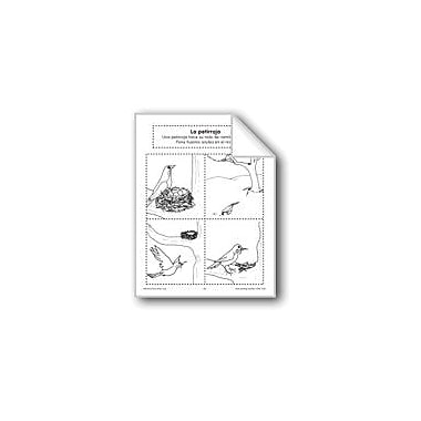 Evan-Moor Educational Publishers Sequencing: the Robin Language Arts Workbook, Preschool - Grade 1 [eBook]