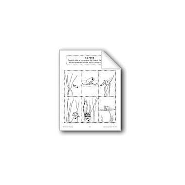 Evan-Moor Educational Publishers Sequencing: the Frog Language Arts Workbook, Preschool - Grade 1 [eBook]