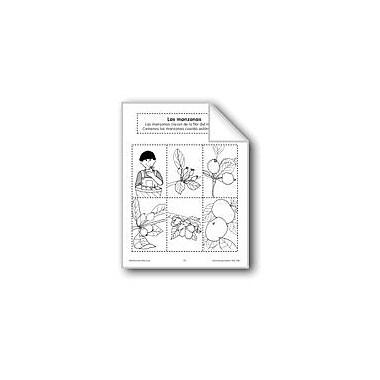 Evan-Moor Educational Publishers Sequencing: Apples Language Arts Workbook, Preschool - Grade 1 [eBook]