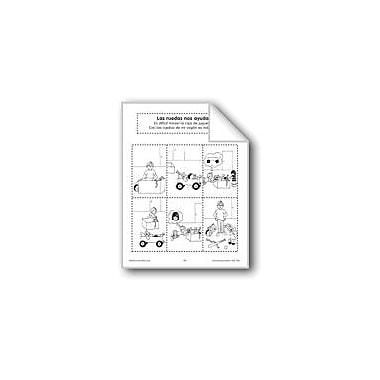 Evan-Moor Educational Publishers Sequencing: Wheels Help Us Language Arts Workbook, Preschool - Grade 1 [eBook]