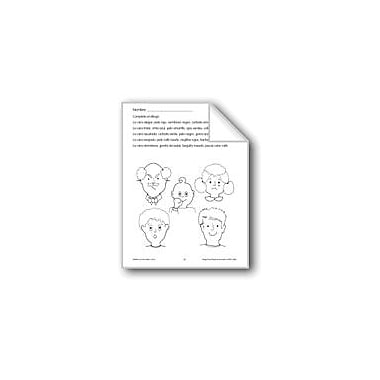 Evan-Moor Educational Publishers Follow Directions: Complete the Picture Language Arts Workbook, Grade 1 - Grade 3 [eBook]