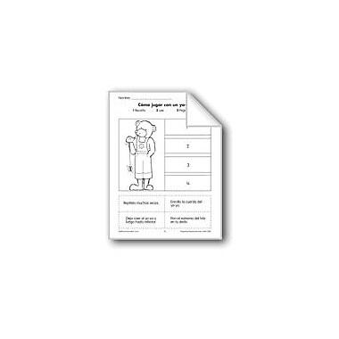 Evan-Moor Educational Publishers Sequencing: How to Work A Yo-Yo Language Arts Workbook, Grade 1 - Grade 3 [eBook]