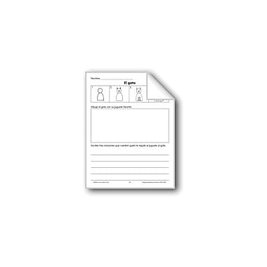 Evan-Moor Educational Publishers Draw/Write: A Cat Language Arts Workbook, Grade 1 - Grade 3 [eBook]