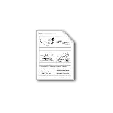 Evan-Moor Educational Publishers Cut & Paste: Frog & Pond Language Arts Workbook, Grade 1 - Grade 3 [eBook]