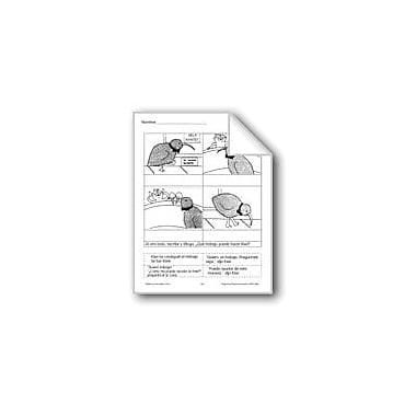 Evan-Moor Educational Publishers Cut & Paste: Kiwi's Job Language Arts Workbook, Grade 1 - Grade 3 [eBook]