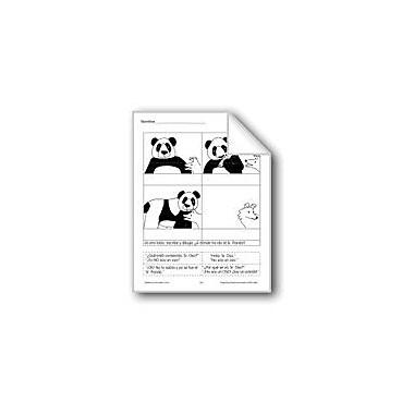 Evan-Moor Educational Publishers Cut & Paste: Panda Language Arts Workbook, Grade 1 - Grade 3 [eBook]