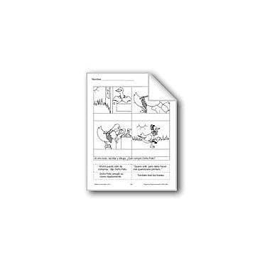 Evan-Moor Educational Publishers Cut & Paste: Mrs. Wig-Wag's Chores Language Arts Workbook, Grade 1 - Grade 3 [eBook]