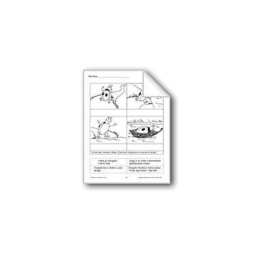 Evan-Moor Educational Publishers Cut & Paste: Huggy Bug Language Arts Workbook, Grade 1 - Grade 3 [eBook]