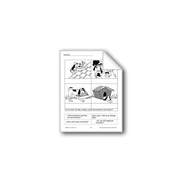 Evan-Moor Educational Publishers Cut & Paste: Dog's House Language Arts Workbook, Grade 1 - Grade 3 [eBook]