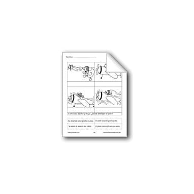 Evan-Moor Educational Publishers Cut & Paste: Flying Language Arts Workbook, Grade 1 - Grade 3 [eBook]
