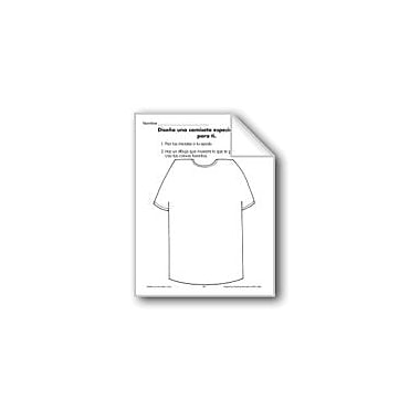 Evan-Moor Educational Publishers All About Me: Design A T-Shirt Language Arts Workbook, Grade 1 - Grade 3 [eBook]
