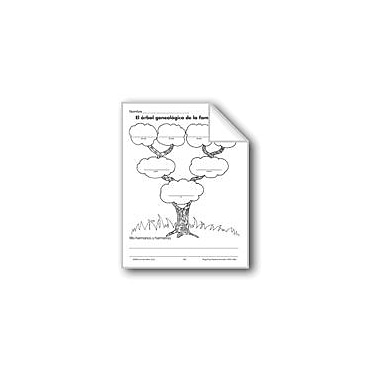 Evan-Moor Educational Publishers All About Me: Family Tree Language Arts Workbook, Grade 1 - Grade 3 [eBook]