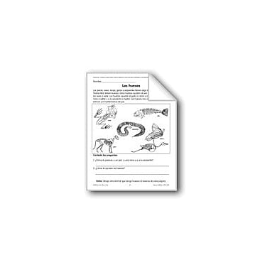 Evan-Moor Educational Publishers Bones/Los Huesos Language Arts Workbook, Grade 1 - Grade 3 [eBook]