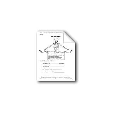 Evan-Moor Educational Publishers My Skeleton/Mi Esqueleto Language Arts Workbook, Grade 1 - Grade 3 [eBook]