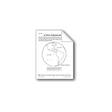 Evan-Moor Educational Publishers Earth-The Water Planet/La Tierra-El Planeta Del Agua Workbook, Grade 1 - Grade 3 [eBook]
