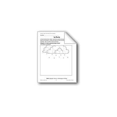 Evan-Moor Educational Publishers Rain/La Lluvia Language Arts Workbook, Grade 1 - Grade 3 [eBook]