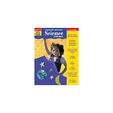 Evan-Moor Educational Publishers English & Spanish Activities, Science Activities Workbook, Grade 1 - Grade 3 [Enhanced eBook]