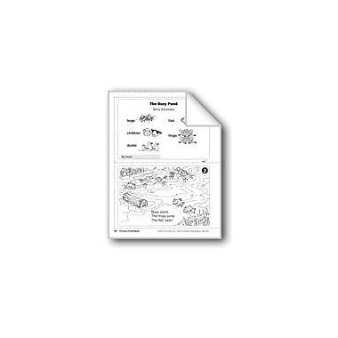 Evan-Moor Educational Publishers The Busy Pond/La Laguna Language Arts Workbook, Grade 1 [eBook]