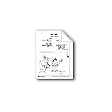 Evan-Moor Educational Publishers The Ticket/El Boleto Language Arts Workbook, Grade 1 [eBook]