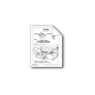 Evan-Moor Educational Publishers Recycling/El Reciclaje Language Arts Workbook, Grade 1 [eBook]